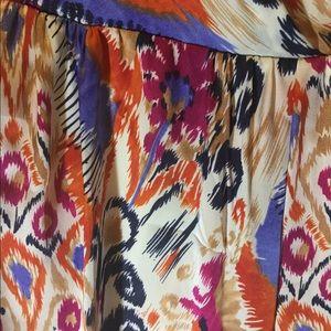 Tribal print sleeveless dress